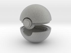 Pokeball Ring Box in Metallic Plastic