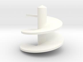1/64 Verticle Mixer Screw in White Processed Versatile Plastic
