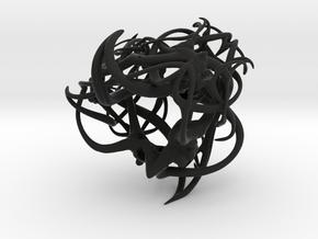 Hoorns in Black Strong & Flexible