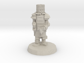 28mm Heroic Scale Space Cossack Commander in Natural Sandstone