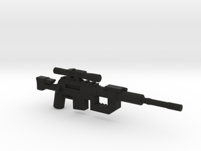 Intervention Sniper Rifle  in Black Natural Versatile Plastic