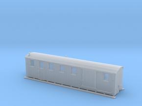 Komb. Personen- und Gepäckwagen der MPSB (1:87) in Frosted Ultra Detail