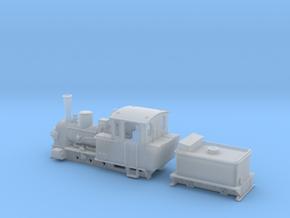 BR 99 3351-53 der MPSB in TTf (1:120) in Smooth Fine Detail Plastic