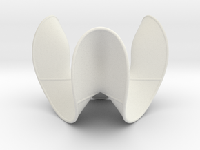 Cubic Surface KM 10 in White Strong & Flexible