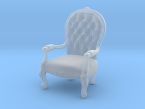 1:10 Scale Model - ArmChair 02 in Smooth Fine Detail Plastic