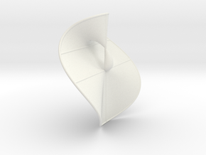 Cubic Surface KM 32 in White Strong & Flexible