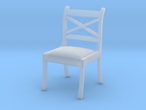 1:10 Scale Model - Chair 02 in Smooth Fine Detail Plastic
