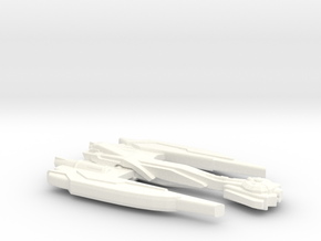 RockTark Class Decimator in White Strong & Flexible Polished