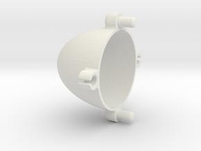 Holder 120305 in White Natural Versatile Plastic