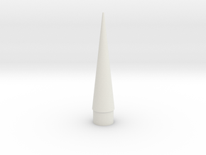 Nose in White Natural Versatile Plastic