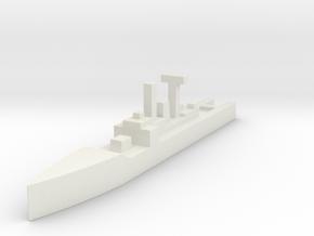Royal Navy, Leander Class (Original) in White Natural Versatile Plastic
