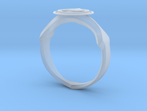 Christian Navigator Ring 2 in Smooth Fine Detail Plastic