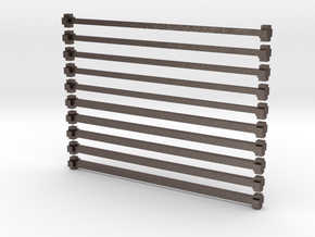 x bars in Stainless Steel