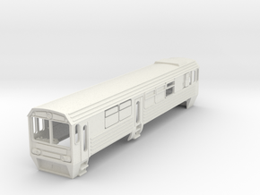 Mbxd2 Railcar 7mm Scale in White Natural Versatile Plastic