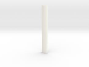 SECR continental roof profile in White Processed Versatile Plastic