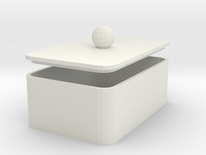 MyBOX 4x6x2 cm in White Natural Versatile Plastic