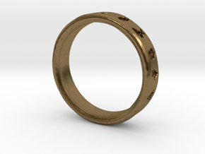 PokemonRing - Size 6 Test in Natural Bronze