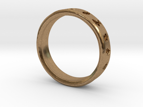 Pokemon Ring in Natural Brass: 6 / 51.5