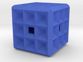 Fractale Geometrie K3 in Blue Processed Versatile Plastic