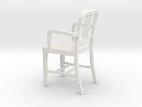 1:24 Alum Chair 1 (Not Full Size) in White Strong & Flexible