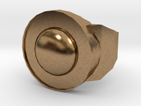 Earth in Natural Brass