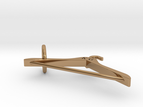 Hanger pendant - a fashion symbol for fashion enth in Polished Brass