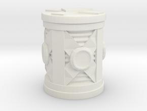 Hi-Tech Barrel in White Natural Versatile Plastic