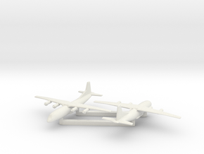1/700 Shaanxi Y8 600 X2 in White Natural Versatile Plastic