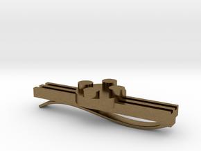 Brick Tie Clip- 4 Stud Type II in Natural Bronze