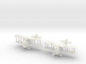 Blackburn Blackburn set (2 airplanes) 1/285 6mm in White Natural Versatile Plastic