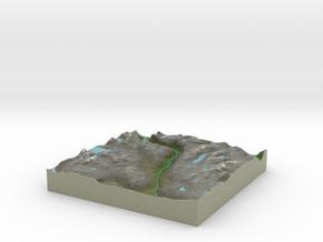 Terrafab generated model Sat Apr 05 2014 21:04:29  in Full Color Sandstone
