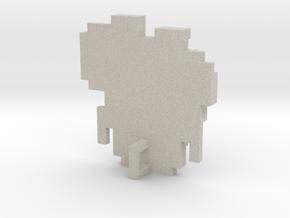 Link 8 Bit Charm in Natural Sandstone