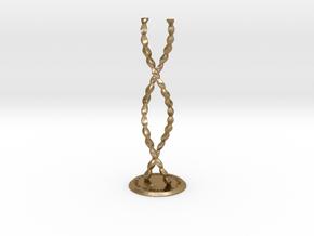 ENDLESS COLUMN 2012 - HOMAGE TO BRANCUSI (v.2) in Polished Gold Steel