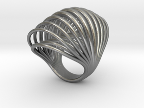 Ring 001 in Natural Silver