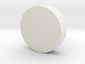 Ashtray in White Strong & Flexible