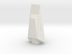 NC-60 (Upscale Orion/Manta) NO Shoulder in White Natural Versatile Plastic