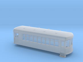 N gauge short trolley -  combine no1 in Smooth Fine Detail Plastic