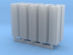 Single Brick Pier HO X 10 in Smooth Fine Detail Plastic