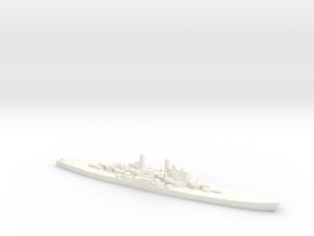 1/2400 HMS Vanguard in White Processed Versatile Plastic
