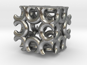 Incendia Ex Fractal Cube T58 in Natural Silver