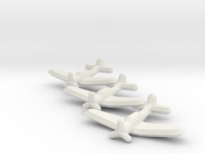 SBD-3 Dauntless (Triplet) 1/900 in White Natural Versatile Plastic