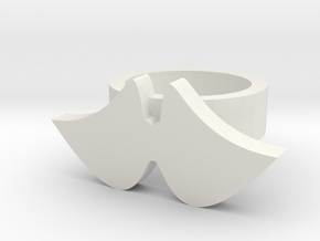 wings ring in White Natural Versatile Plastic