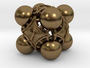 Nucleus D6 in Natural Bronze