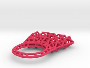 Thrones_ring size 6.25 in Pink Processed Versatile Plastic