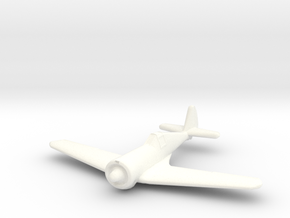 1/144 Curtiss-Wright CW21 B in White Strong & Flexible Polished