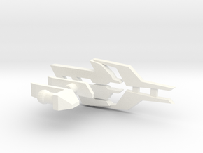 TF:Prime Ultimate Predaking addon Beast Handblast in White Processed Versatile Plastic