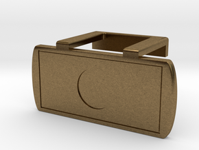 Webcam Cover - Logitech C920 in Raw Bronze