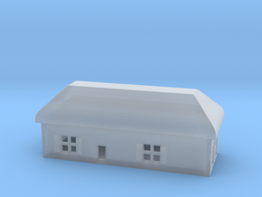 1/700 Villiage House 4 in Smooth Fine Detail Plastic