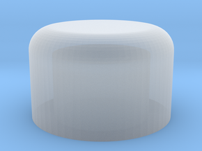 MP-10 Ion Blaster Barrel Plug in Smooth Fine Detail Plastic