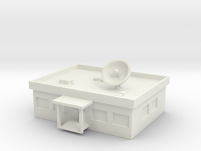 1/700 TV Station in White Strong & Flexible